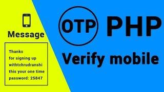 SMS API | Signup & Login Through OTP  Using PHP