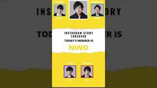 ARASHI INSTAGRAM STORY TAKEOVER Tuesday NINO.