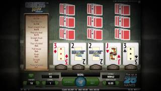 Deuces Wild Double Up - Video Poker - NetEnt