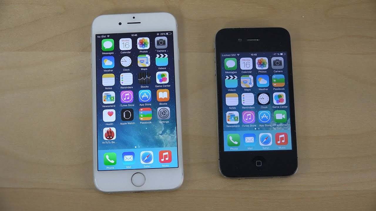 Apple iPhone 4 iOS 64 BIT