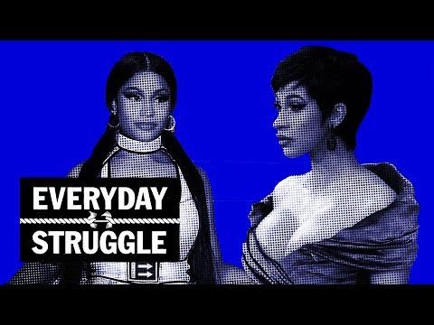 Cardi B & Nicki Minaj Shade at VMAs, Young Dolph Turns Down $22M   Everyday Struggle