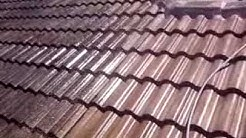 Chemically cleaning Tile Roof in Windermere, Florida