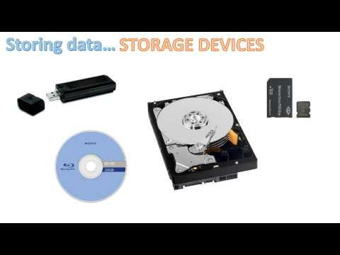 Input, Output and Storage Devices