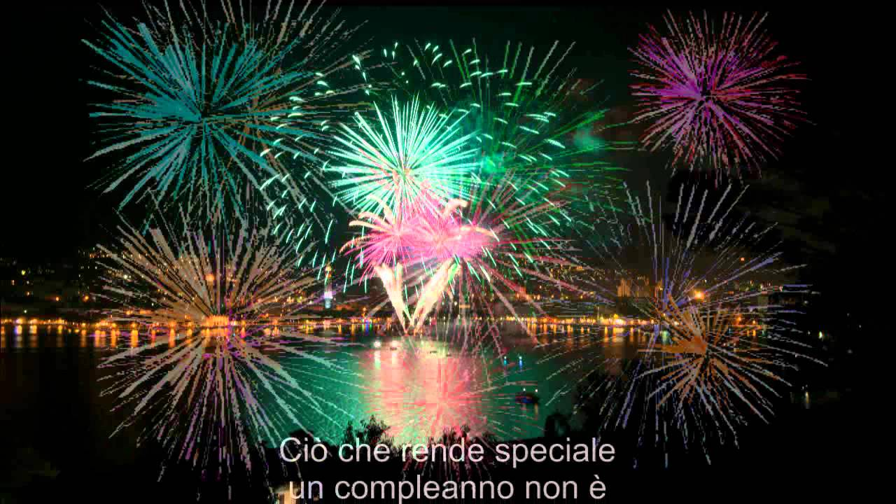 Assez buon compleanno - YouTube MG06