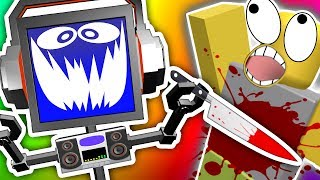 ROBOT MURDER SPREE!!! (ROBLOX ASSASSIN) | Facecam