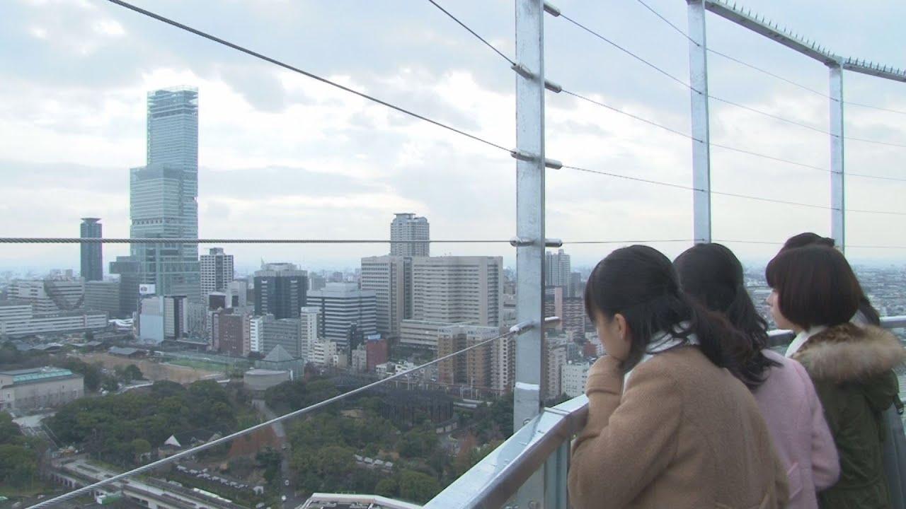 通天閣に特別展望台を新設 頂上...