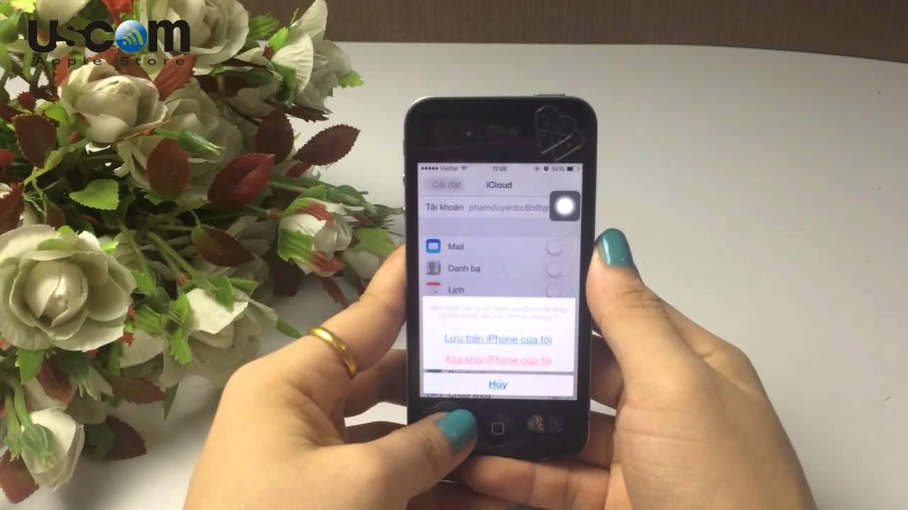 Cách xóa danh bạ trên iPhone