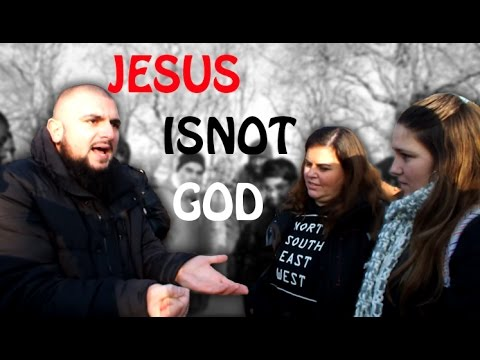 Speakers Corner !! Br Muhammad speaks with Portuguese Group (Jesus is NOT God)