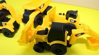 Caterpillar Mini Machines Construction Toy Trucks