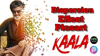 Dispersion effect using picsart | 4mins tutorial | vfxtamilanz