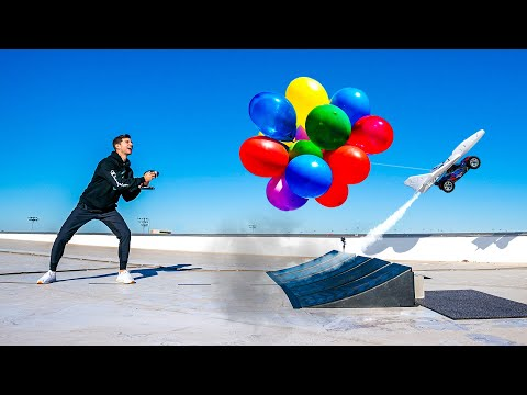 Flying RC Car - Dude Perfect