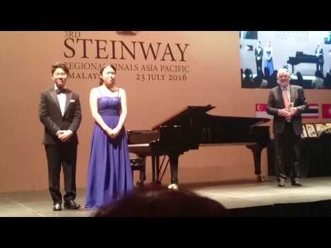 2016 3RD STEINWAY REGIONAL FINALS ASIA PACIFIC
