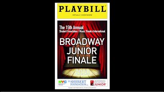 15th Annual Shubert Foundation/Music Theatre International - Broadway Jr. Finale 2020