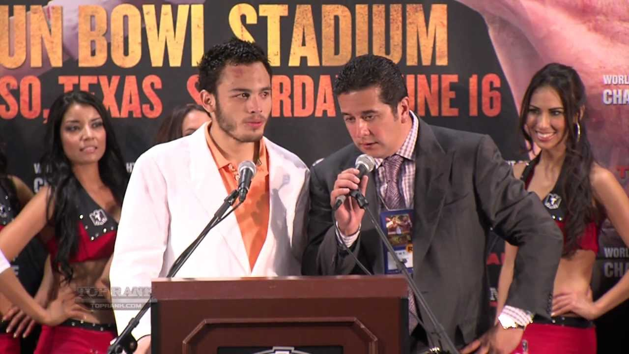 Chavez Jr vs Lee Post Fight Presser