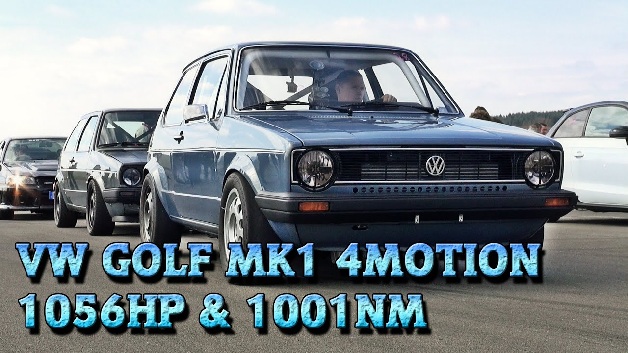 vw golf mk1 1056hp meschede 2015 9 9s 252kmh street race. Black Bedroom Furniture Sets. Home Design Ideas