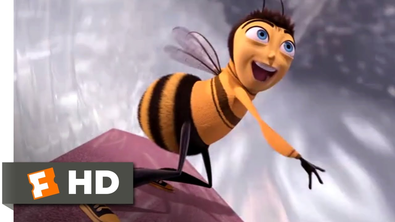 Bee Movie 2007 Bathroom Bee Brawl Scene 5 10 Movieclips Youtube