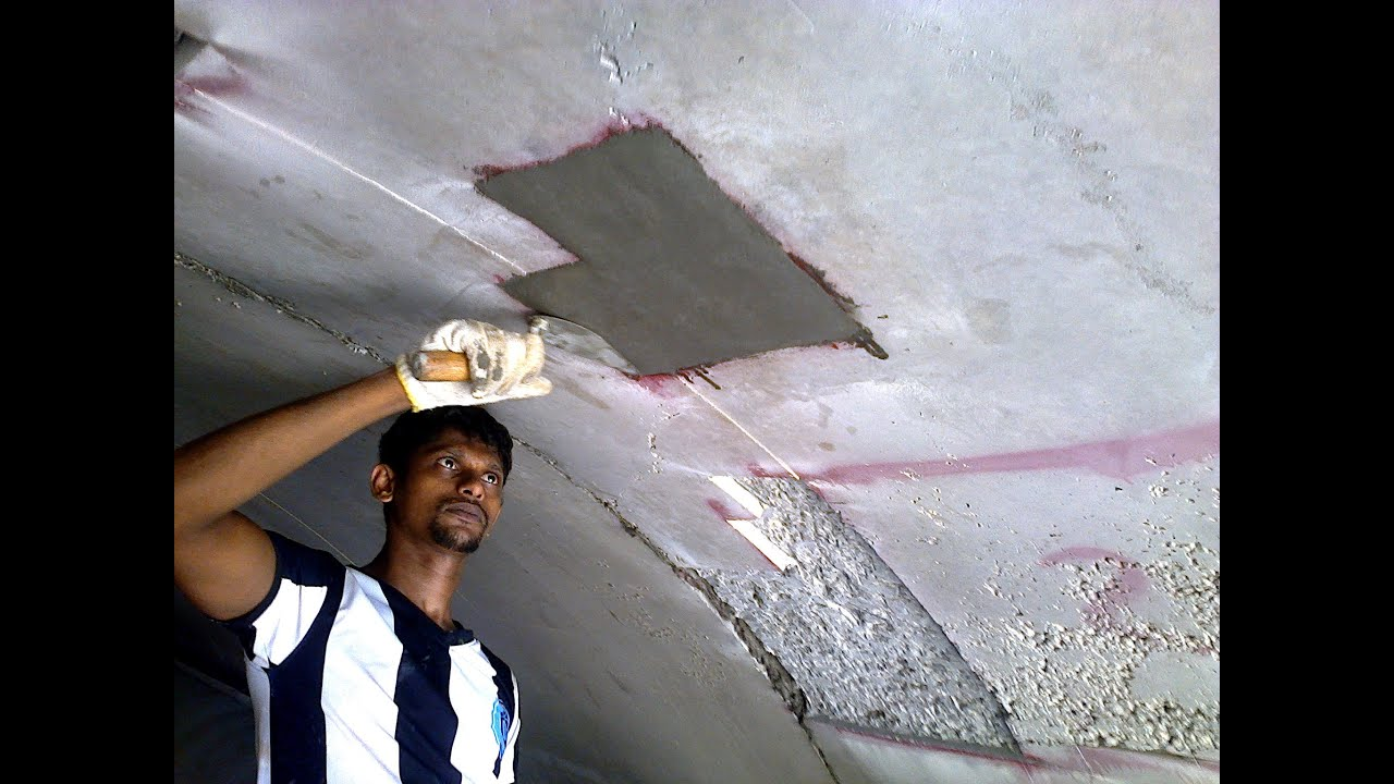 The Correct Method To Repair Honeycombs In Concrete You