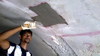 The Correct method to Repair HONEYCOMBS in CONCRETE