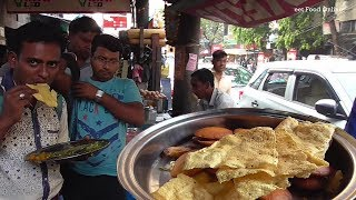 Most Cheapest & Best Street Food (Complete Veg Dishes) in Kolkata Besides Tea Board