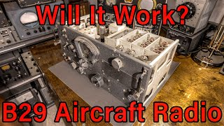 B-29 Aircraft Receiver Scrap Parts Unit, Will It Still Work?