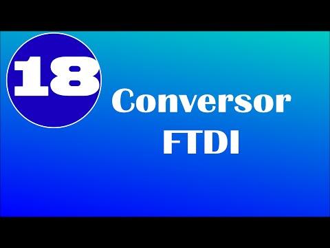Coversor FTDI + Arduino