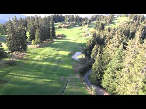 Trou n°4 - Golf Les Gets