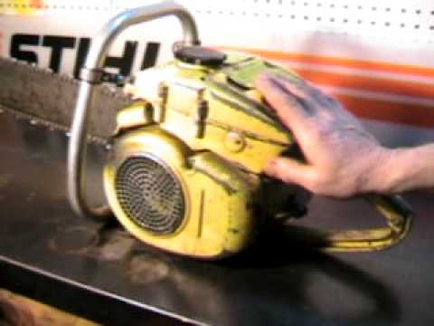 The chainsaw guy shop talk McCulloch D 44 chainsaw 1 19.AVI