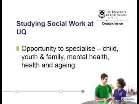 Social Work at UQ