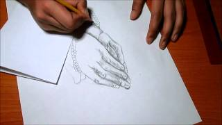 Praying Hands Speed Drawing