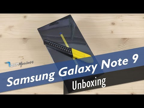 Samsung Galaxy Note 9 Unboxing [Greek]