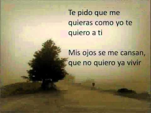 No me importa si tu lloras