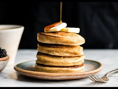 Healthy Greek Yogurt Pancakes Recipe