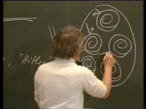 Ärztin Elisabeth Kübler Ross hält einen Vortrag an der Universität Zürich. Dez. 18, 1982, Teil #2