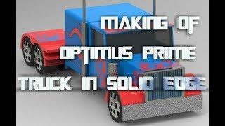 Making of Optimus prime truck