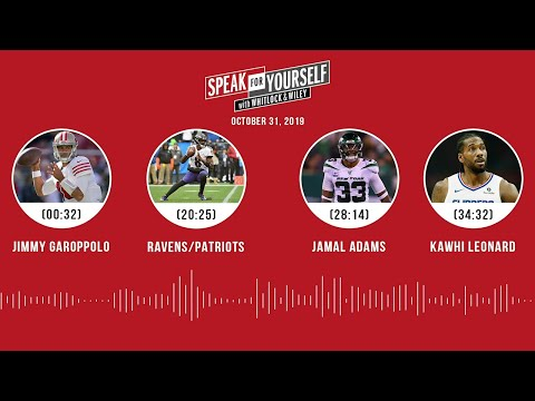SPEAK FOR YOURSELF Audio Podcast (10.31.19)with Marcellus Wiley, Jason Whitlock | SPEAK FOR YOURSELF