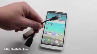 How to Use LG G3 with a USB Drive