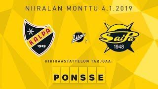 KalPa - SaiPa, 4.1.2019, hikihaastattelu: Sami Kapanen ja Mikael Seppälä