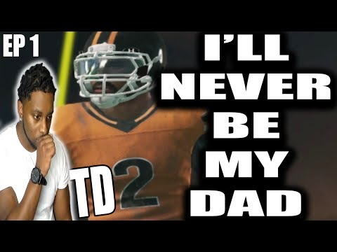 TD2 EP 1- TD2 DOSENT MODEL HIS GAME AFTER HIS DAD!!! NCAA FOOTBALL 14 RTG SS