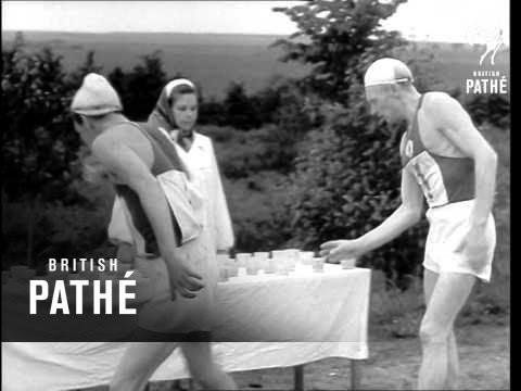 Walking Contest Won By Spirin (1958)