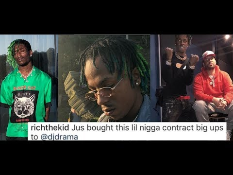 Rich The Kid Claims He's Buying Lil Uzi Vert Recording Contract from DJ Drama and Atlantic Records.