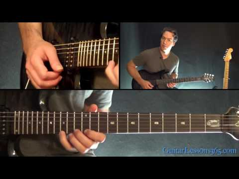 Flying in a Blue Dream Guitar Lesson (Part 2) - Joe Satriani