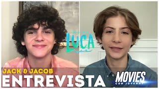 LUCA: ENTREVISTA CON JACOB TREMBLAY Y JACK DYLAN GRAZER EN ESPAÑOL (SUBTITULOS)