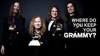 Where Do You Keep Your GRAMMY | David Ellefson Of Megadeth