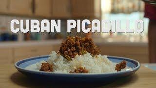 How To Make Cuban Picadillo | La Cocina | mitú