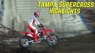 2020 Tampa Supercross Highlights - Motocross Action Magazine