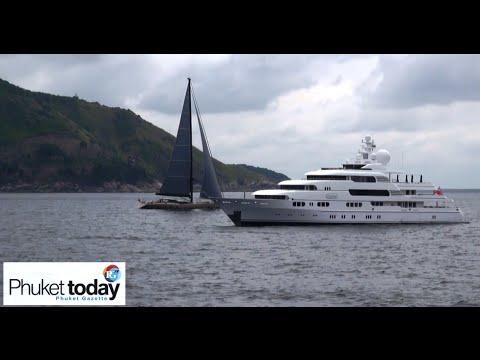 Marine Dept: one-year charter license for superyachts visiting Phuket