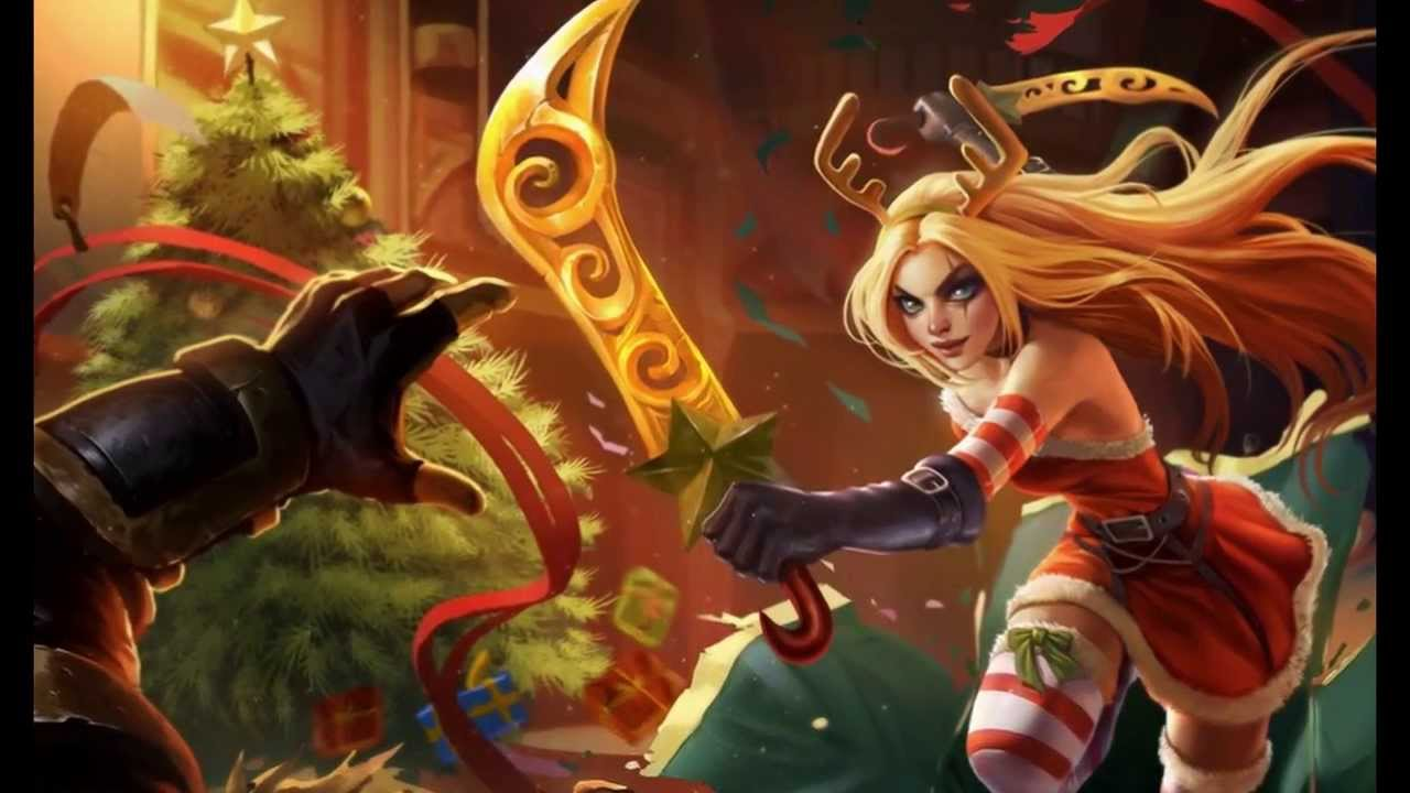 League Of Legends Collector Christmas U0026 39  Skins Account