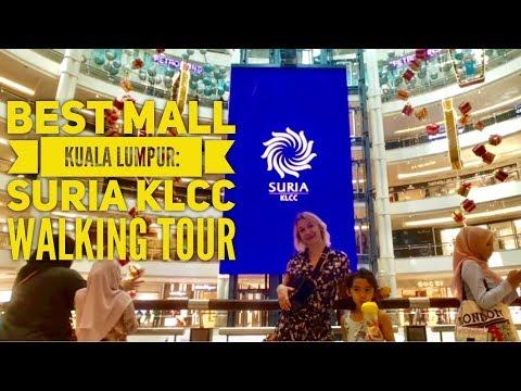 Best Shopping Mall Kuala Lumpur Malaysia: Suria KLCC Walking Tour