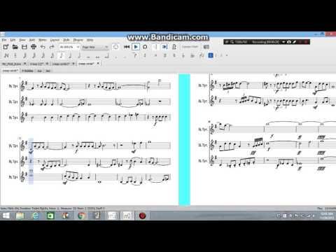 Creep trumpet sheet music