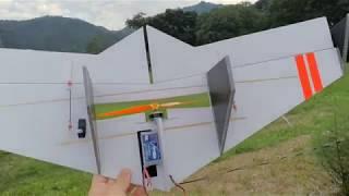 自作Flying Wing 1号機 -3セルテスト- thumbnail